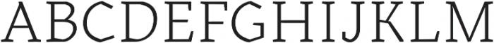 Kitsch Text Light otf (300) Font UPPERCASE