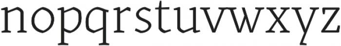 Kitsch Text Light otf (300) Font LOWERCASE