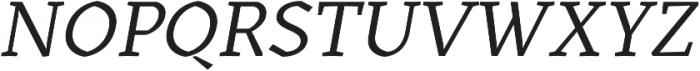 Kitsch Text otf (400) Font UPPERCASE