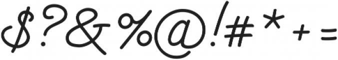 Kitten Monoline ttf (400) Font OTHER CHARS