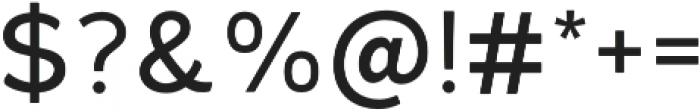 Kiwi Sherbert Regular otf (400) Font OTHER CHARS
