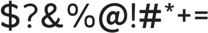 Kiwi Sherbert Regular ttf (400) Font OTHER CHARS