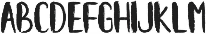 Kiwy Rough otf (400) Font UPPERCASE