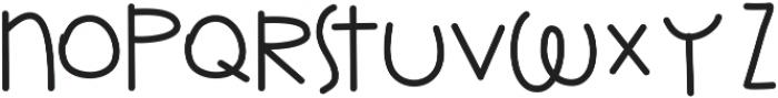 kimble ttf (400) Font UPPERCASE