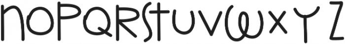 kimble ttf (400) Font LOWERCASE