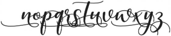 kissita alt 11 Regular otf (400) Font LOWERCASE