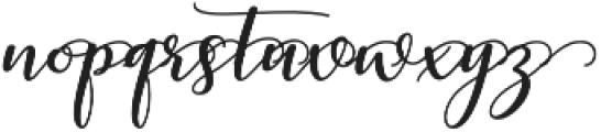 kissita alt 3 Regular otf (400) Font LOWERCASE