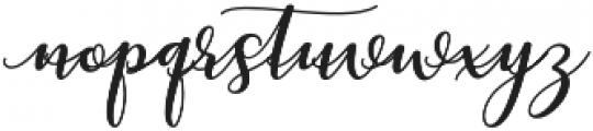 kissita alt 8 Regular otf (400) Font LOWERCASE