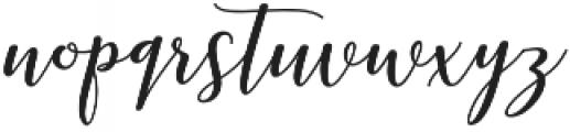 kissita alt Regular otf (400) Font LOWERCASE