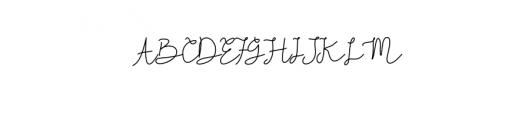 Kiarina-Bold.otf Font UPPERCASE