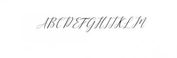 Kimberly Font UPPERCASE
