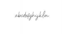 Kinantey.otf Font LOWERCASE