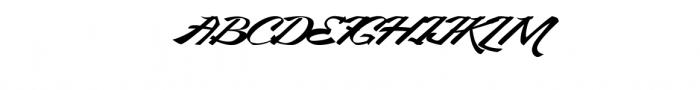 King City - Logo Type Modern Callygraphy Font UPPERCASE
