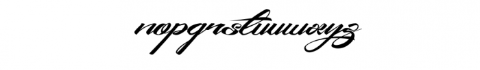 King City - Logo Type Modern Callygraphy Font LOWERCASE