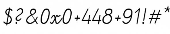 Kidorama Regular Font OTHER CHARS