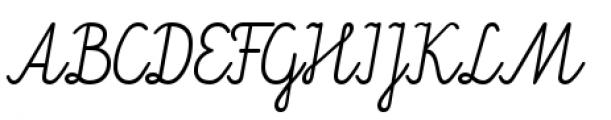 Kidorama Regular Font UPPERCASE