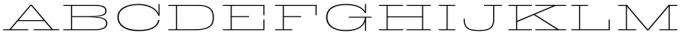 King Tut Thin Font UPPERCASE