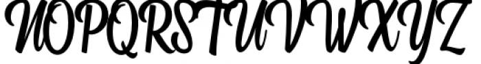 Kitchen Bold Font UPPERCASE
