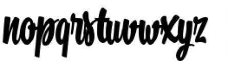 Kitchen Bold Font LOWERCASE