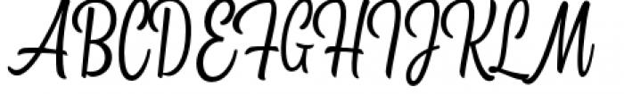Kitchen Light Font UPPERCASE