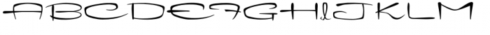 Kitchenette Font UPPERCASE
