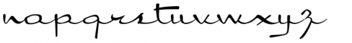 Kitchenette Font LOWERCASE