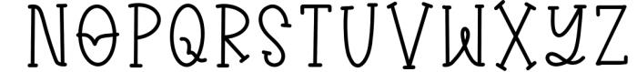 Kiary - A Handwritten Heart Font Duo Font UPPERCASE