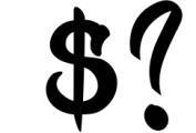 Kick Slipe Font Font OTHER CHARS