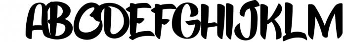 Kick Slipe Font Font UPPERCASE
