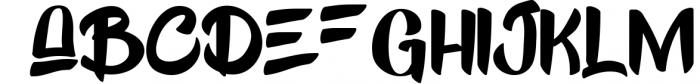 Kick Slipe Font Font LOWERCASE