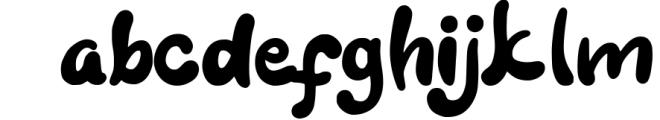 Kidsjone Fun For Kids Font LOWERCASE