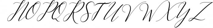 Kimberly Script 1 Font UPPERCASE
