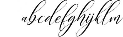 Kimberly Script 1 Font LOWERCASE