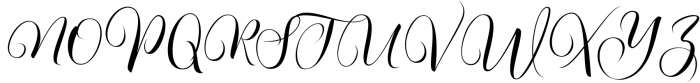 Kimberly Script Font UPPERCASE