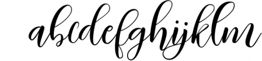 Kimberly Script Font LOWERCASE