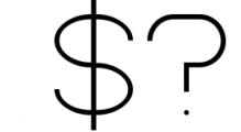 Kindel - Sans Serif Typeface 1 Font OTHER CHARS