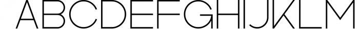 Kindel - Sans Serif Typeface 1 Font UPPERCASE