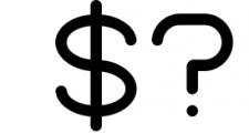 Kindel - Sans Serif Typeface 4 Font OTHER CHARS