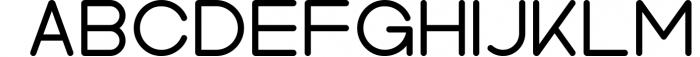 Kindel - Sans Serif Typeface 4 Font UPPERCASE