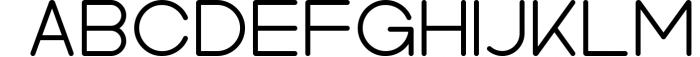 Kindel - Sans Serif Typeface 5 Font UPPERCASE