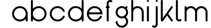 Kindel - Sans Serif Typeface 5 Font LOWERCASE