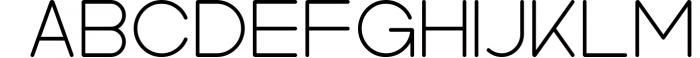 Kindel - Sans Serif Typeface 7 Font UPPERCASE