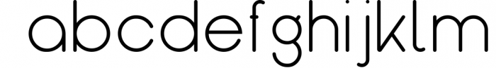 Kindel - Sans Serif Typeface 7 Font LOWERCASE