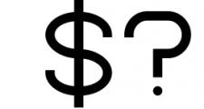 Kindel - Sans Serif Typeface Font OTHER CHARS