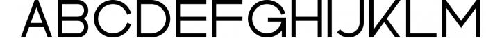 Kindel - Sans Serif Typeface Font UPPERCASE