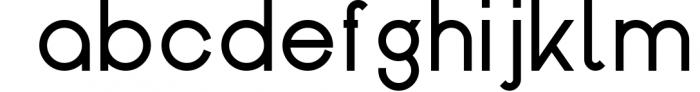Kindel - Sans Serif Typeface Font LOWERCASE