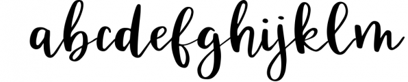 Kingfisher, modern calligraphy font Font LOWERCASE