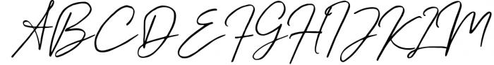 Kingstoner Signature Font 1 Font UPPERCASE