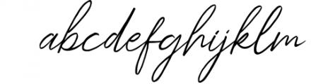 Kingstoner Signature Font 1 Font LOWERCASE
