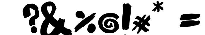 KIMI HIMI Font OTHER CHARS